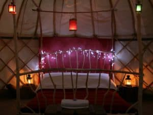 yurt bed fairy lightweb